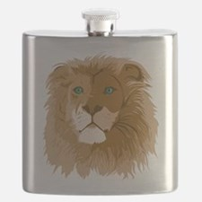 Realistic Lion Flask