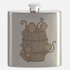 Barrel Monkey Flask