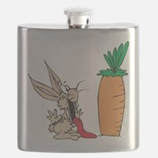 Funny Rabbit Flask