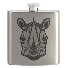 Rhinoceros Flask