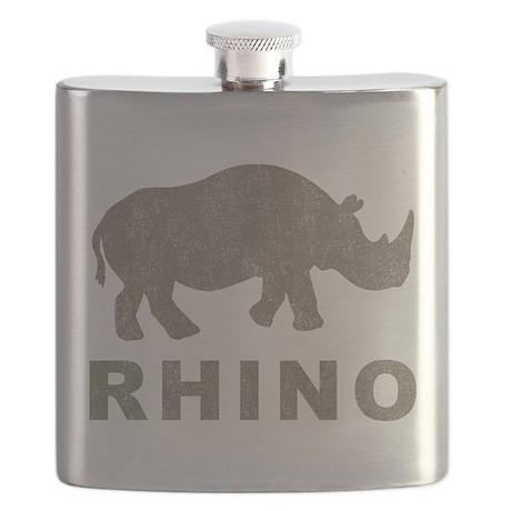 Vintage Rhino Flask