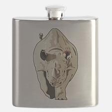 Realistic Rhinoceros Flask