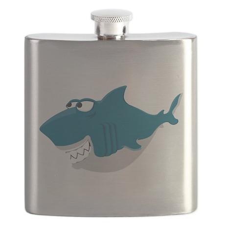 Cute Shark Flask
