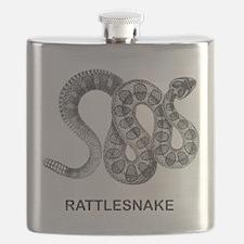 Vintage Rattlesnake Flask