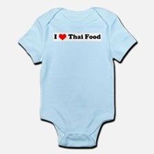 I Love Thai Food Infant Creeper