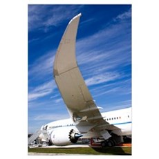 Boeing 787 Dreamliner at Farnborough Framed Print
