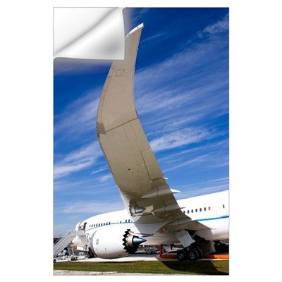 Boeing 787 Dreamliner at Farnborough Wall Decal