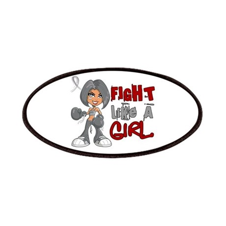 Licensed Fight Like a Girl 42.8 Brain Canc Patches