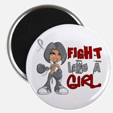 "Licensed Fight Like a Girl 2.25"" Magnet (100 pack)"