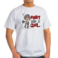 Licensed Fight Like a Girl 42.8 Brai T-Shirt