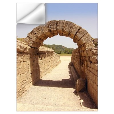 Ancient Olympia stadium entrance Wall Decal