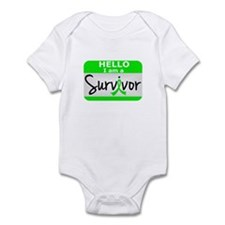 NH Lymphoma Survivor 24 Infant Bodysuit