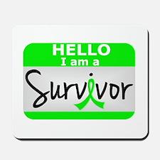 NH Lymphoma Survivor 24 Mousepad