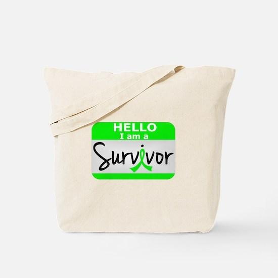 NH Lymphoma Survivor 24 Tote Bag