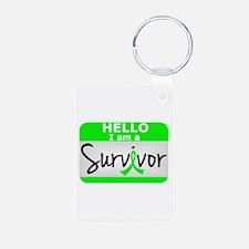 NH Lymphoma Survivor 24 Keychains