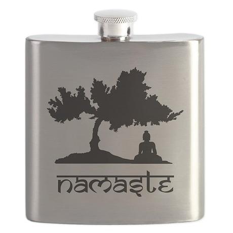 Buddha under Bodhi Tree Flask