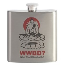 What Would Buddha Do? Flask