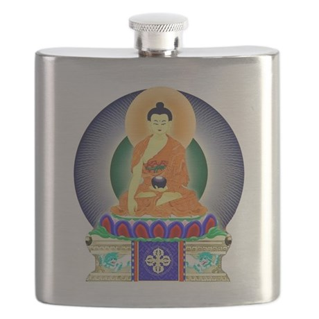 Colorful Buddha Flask