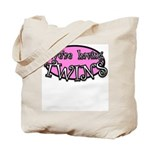 We're having TWINS-pink Tote Bag
