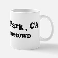 Newbury Park - hometown Small Small Mug