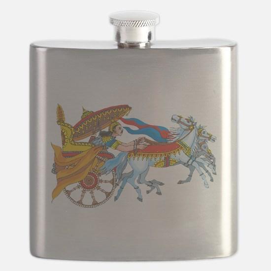 Hindu Deity Flask