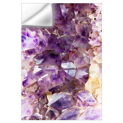 Amethyst crystals Wall Decal
