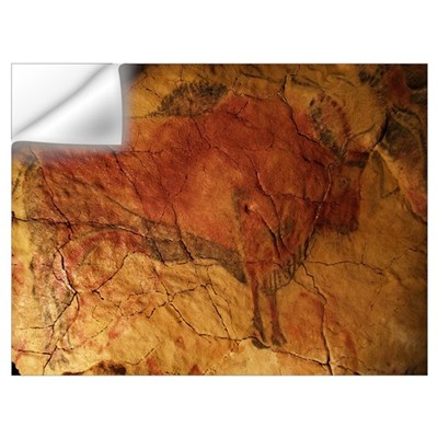 Altamira cave painting of a bison Wall Decal