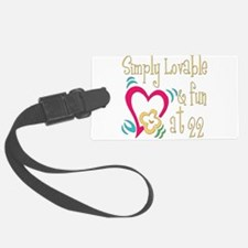 Lovable22.png Luggage Tag