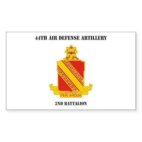 DUI - 44th Air Defense Artillery 2nd Battalion wit