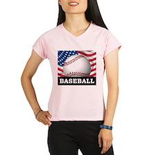 American Baseball Performance Dry T-Shirt