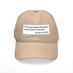 Man Does His Best Cap