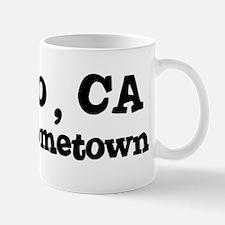 Solano - hometown Small Small Mug