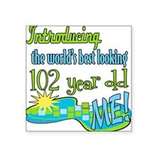 """Introducing102.png Square Sticker 3"""" x 3"""""""