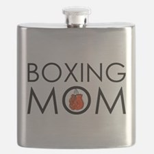 Boxing Mom Flask