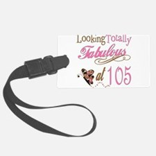 FabPinkBrown105 copy.png Luggage Tag