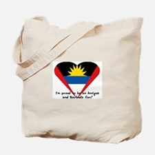 Antigua and Barbuda pride Tote Bag