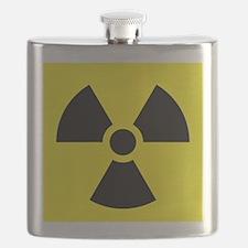 Radioactive Symbol Flask
