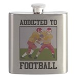 Addicted To Football Flask