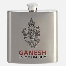 Unique Hinduism Flask