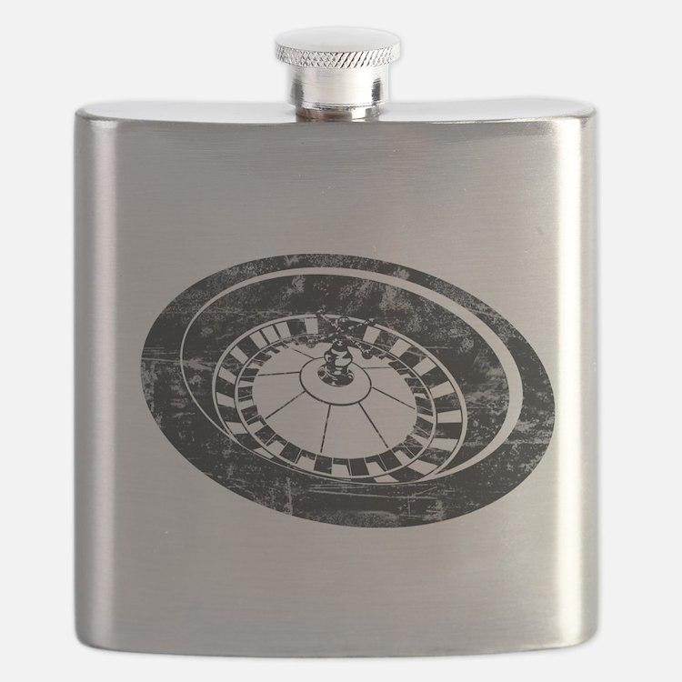 Vintage Roulette Flask
