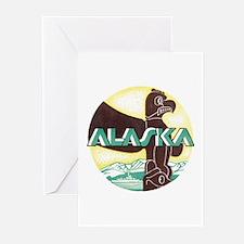 Alaska Totem Pole Greeting Cards (Pk of 10)