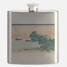 Unique Ukiyo e Flask