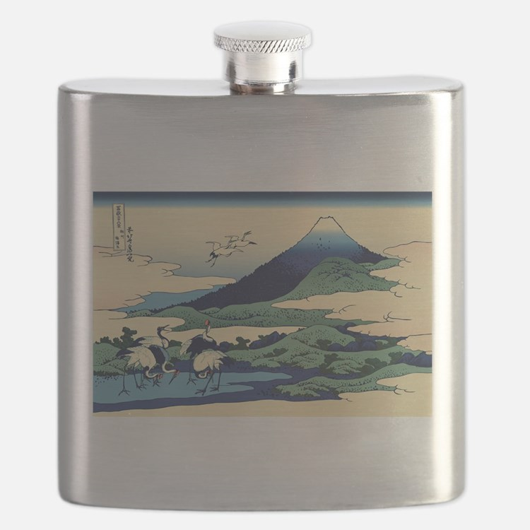 Cute Ukiyo e Flask