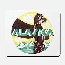 Alaska Totem Pole Mousepad