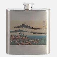 Hokusai Dawn at Isawa Flask