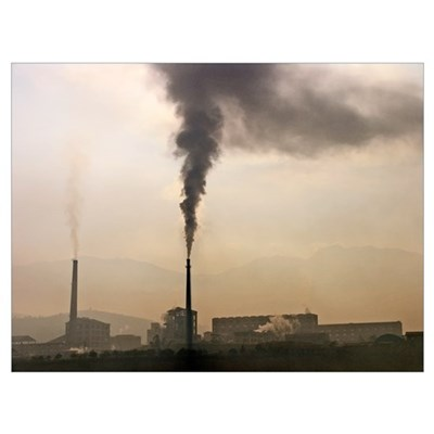 Air pollution Poster