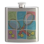Tennis Puzzle Flask