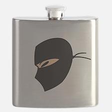 Ninja Face Flask