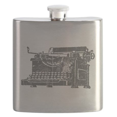 Vintage Typewriter Flask