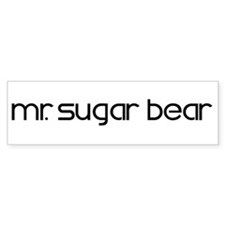 Mrs. Sugar Bear II Bumper Bumper Sticker